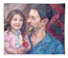 Scott And Sam Commission Fleece Blanket