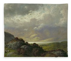 Scottish Landscape Fleece Blanket