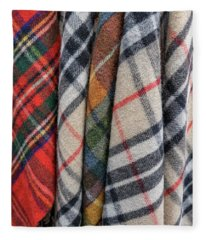 Scottish Plaids Fleece Blanket