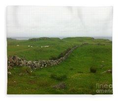 Scottish Wall Fleece Blanket