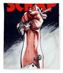 Scrap - Ww2 Propaganda Fleece Blanket