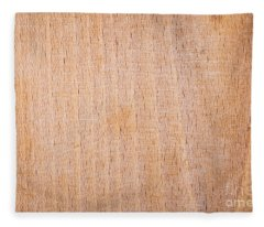 Scratched Wooden Chopping Board Fleece Blanket