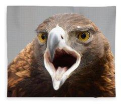 Screaming Eagle Fleece Blanket