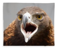 Screaming Eagle Fleece Blanket