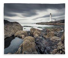 Scurdie Ness 1 Fleece Blanket