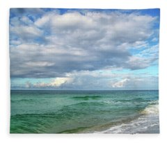 Sea And Sky - Florida Fleece Blanket