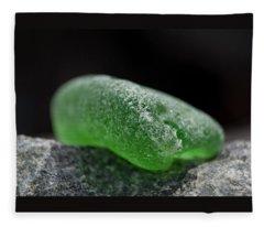 Sea Glass 1 Fleece Blanket