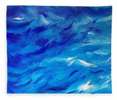 Sea I Fleece Blanket