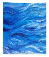 Sea 2 Fleece Blanket