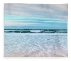 Sea Is Calling Fleece Blanket