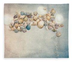 Sea Music Fleece Blanket