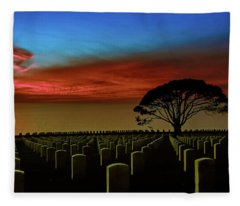 Sea Of Memories Fleece Blanket