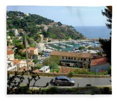 Sea Resort La Redonne Fleece Blanket