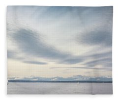 Sea Scene Fleece Blanket