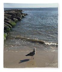 Sea Shadow Fleece Blanket