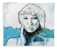 Sea Siren Fleece Blanket
