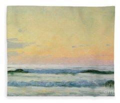Sea Study Fleece Blanket