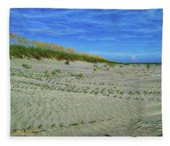Sea Swept Fleece Blanket