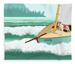 Seadog Fleece Blanket