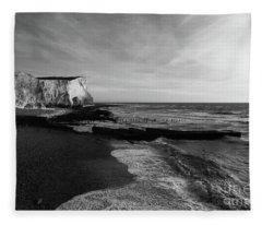 Seaford Head East Sussex England Fleece Blanket