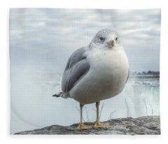 Seagull Model Fleece Blanket
