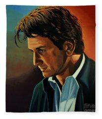 Sean Penn Fleece Blanket