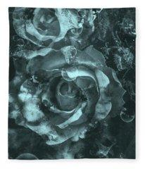 Seas Of Forgotten Fleece Blanket