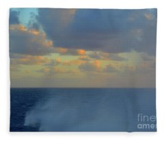 Seas The Day Fleece Blanket
