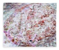 Seashell Of Pearl  Fleece Blanket