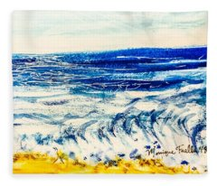 Seashore  Fleece Blanket