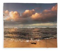 Seashore Splendour Fleece Blanket