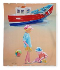 Seaside Fleece Blanket