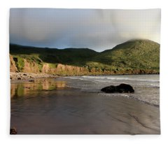 Seaside Reflections, County Kerry, Ireland Fleece Blanket