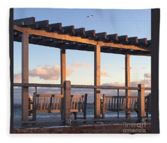Seaside Seating  Fleece Blanket