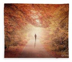 Season Of Hollow Soul Fleece Blanket