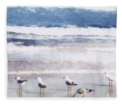 Seaspray Fleece Blanket