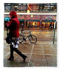 Seattle Rain Fleece Blanket