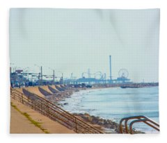 Seawall Blvd Fleece Blanket