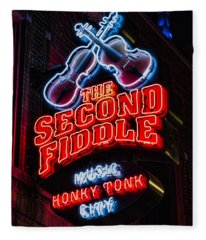 Second Fiddle Fleece Blanket