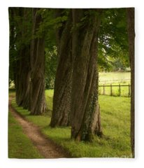 Secret Path Fleece Blanket