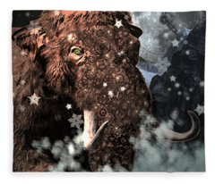 Secrets Of Time Fleece Blanket