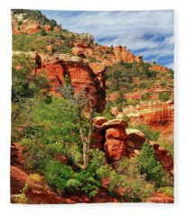 Sedona I Fleece Blanket