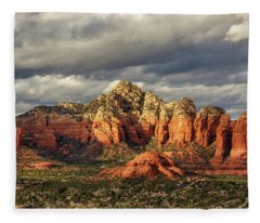 Sedona Skyline Fleece Blanket