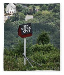 See Rock City Fleece Blanket