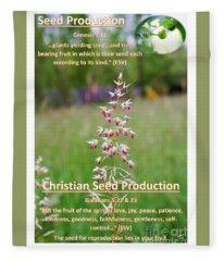 Seed Production Fleece Blanket