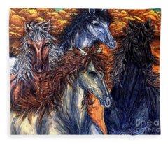 Seeds Of Independence Fleece Blanket