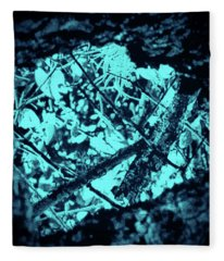 Seeing Through Trees Fleece Blanket