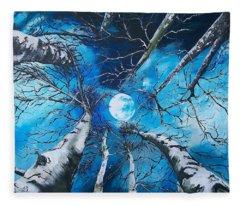 Selenophilia Fleece Blanket