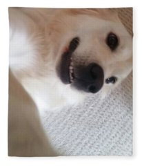 Sneaky Selfie Fleece Blanket