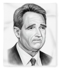 Sen Jeff Flake Fleece Blanket